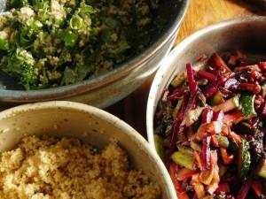 Gemüse-Couscous Zutaten
