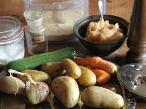 Kartoffelpuffer (Zutaten)
